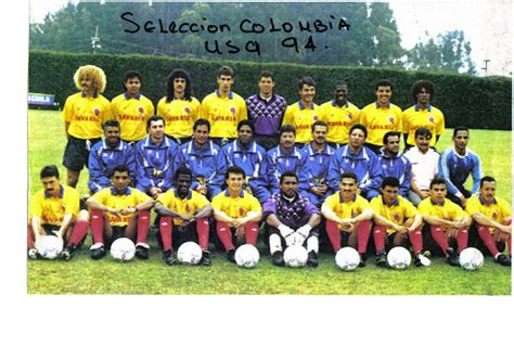 Colombia's Team 1994 | Page 2 | BigSoccer Forum