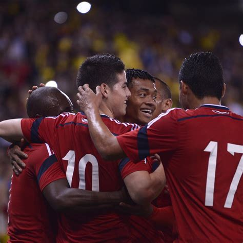 Colombia World Cup Roster 2014: Final 23 Man Squad and ...