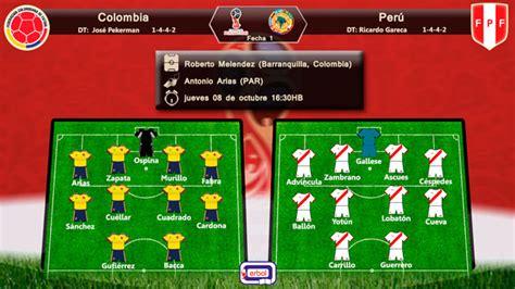 Colombia y Perú salen al ruedo en pos del triunfo | Erbol ...