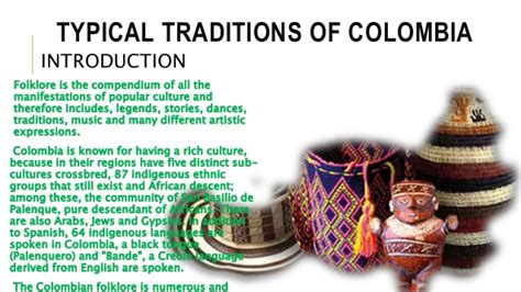 Colombian Traditions