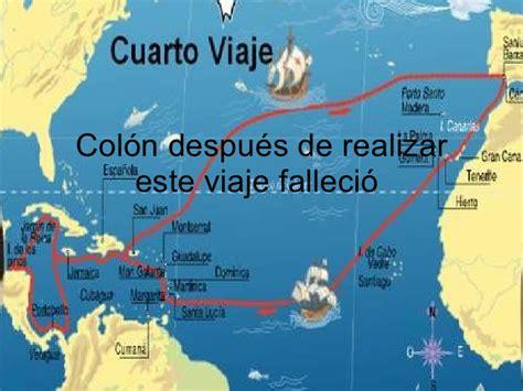 Colón. Su viaje incierto.