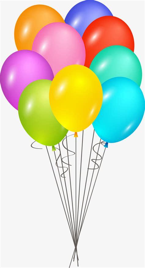 Color De Dibujos Animados De Globo Feliz Cumpleaños ...