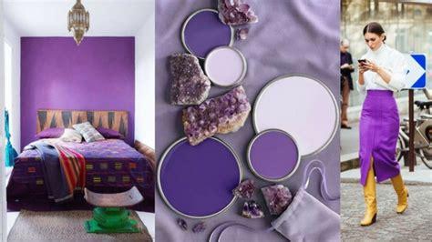 Color del año 2018 Ultra violet   Mira como se lleva