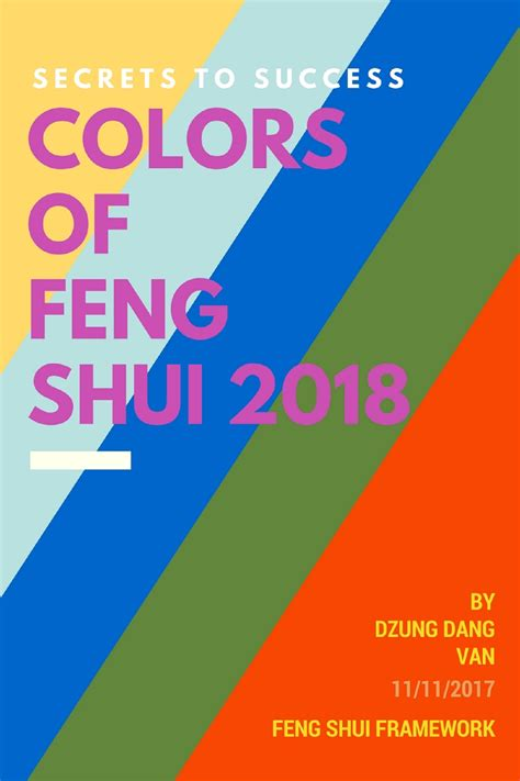 Color For 2018 Feng Shui | My blog