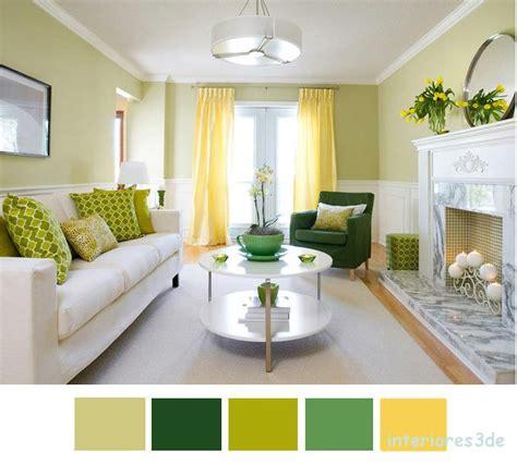 Color Verde y Amarillo para primavera.   Interiores3de ...