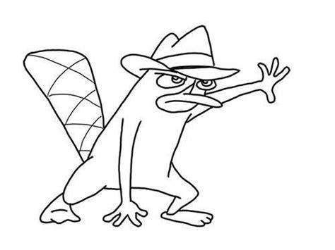 Colorea a Phineas y Ferb, personajes de Disney Channel ...