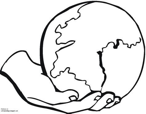 COLOREA TUS DIBUJOS: Planeta tierra en una mano para ...