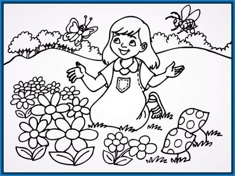 colorear infantil Archivos   Dibujos para Dibujar