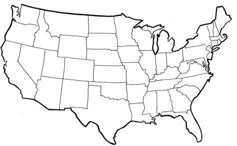 Colorear Mapa De Los Estados Unidos - Opticanovosti # ...