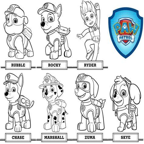 Colorear Patrulla Canina Juegos Para Descargar | Colorear ...