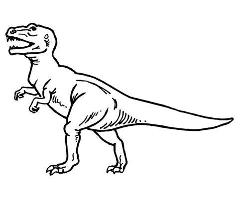 Colorear Tiranosaurio Rex Para T Dibujos Colorear ...