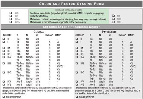 Colorectal Cancer Staging | Benjaminfgrobinson