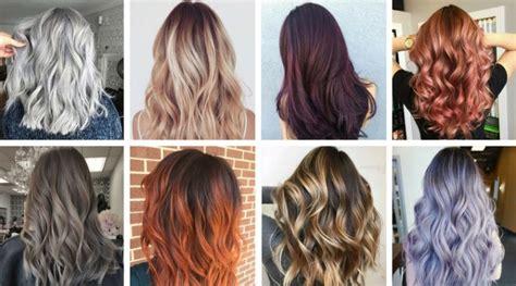 Colores de cabello que marcarán tendencia este 2018