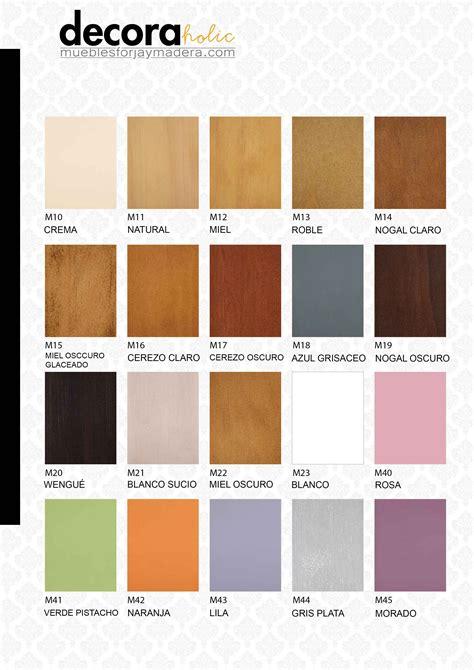 Colores muebles madera – Materiales de construcción para ...