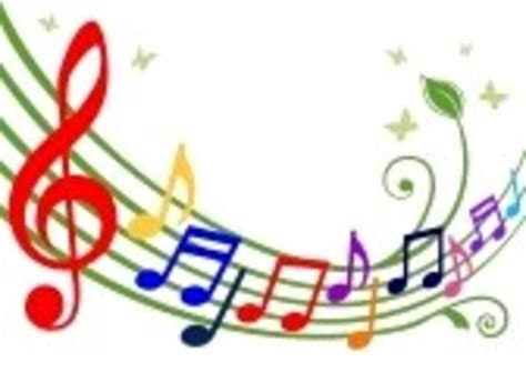 Colorful Musical Notes | Free Images at Clker.com   vector ...