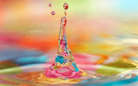 Colorful water art   colorful background 4k UHD wallpaper ...
