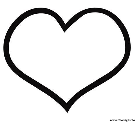 Coloriage Coeur Noir Et Blanc dessin