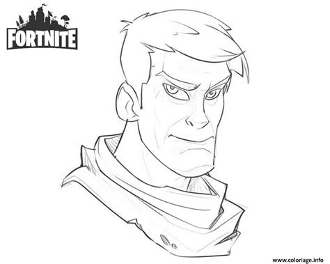 Coloriage Fortnite Character Warmup Art Work by Josh Bruce ...