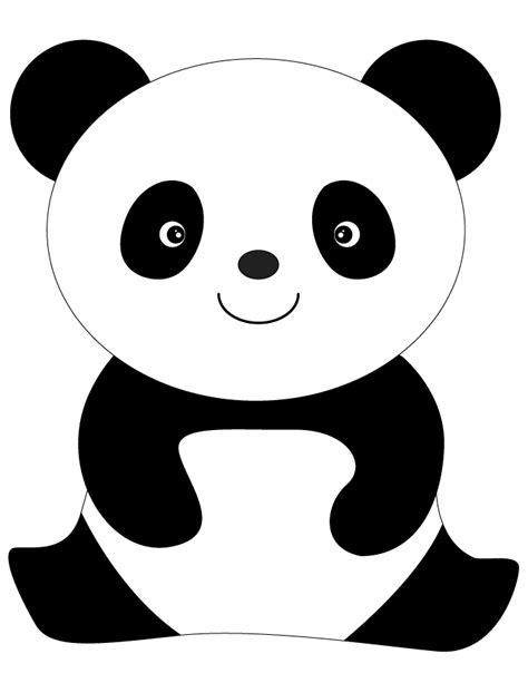 Coloriages Panda - Les animaux