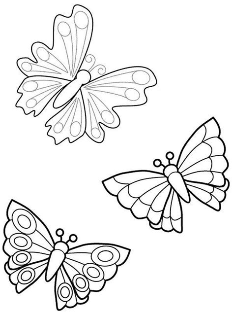 Colorier les dessins de papillon