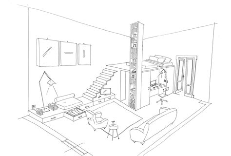 Coloring Pages For Interior Design : Appealing Coloring ...