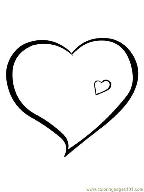 Coloring Pages Hearts 6 (Other > Heart) - free printable ...