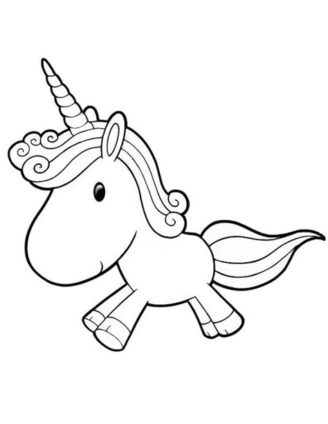 Coloring Pages Unicorn - Chacalavong.info