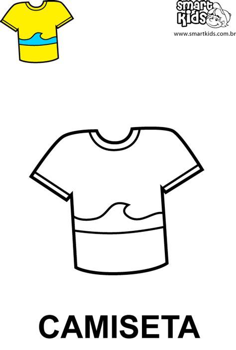 Colorir Desenho Camiseta - Desenhos para colorir - Smartkids
