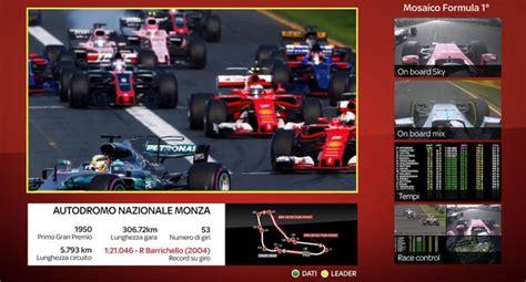 Come vedere la Formula 1 in TV o in diretta live streaming ...