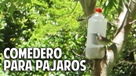Comedero para aves silvestres en 2 minutos - recontra ...