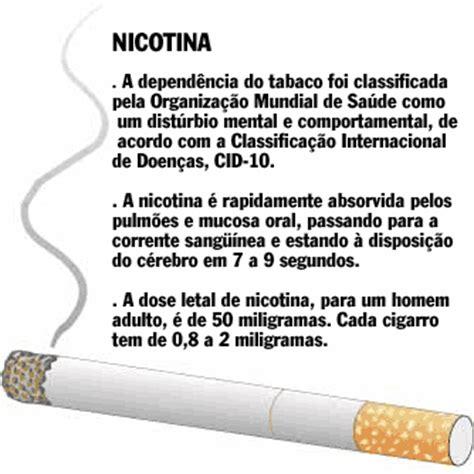 COMEN Valinhos: Nicotina