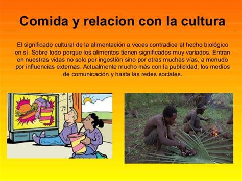 Comida y costumbres culturales
