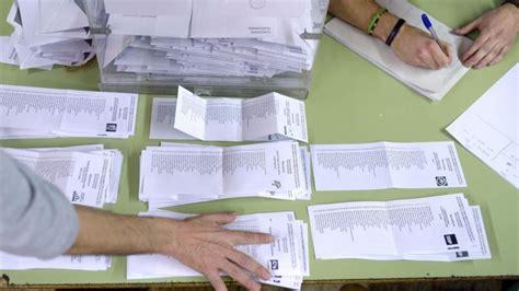 Comienza escrutinio de resultados de elecciones de ...