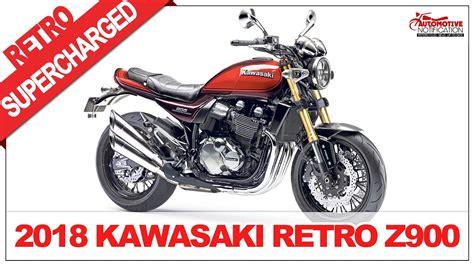 COMING SOON!! 2018 KAWASAKI Retro Z900RS and Also ...