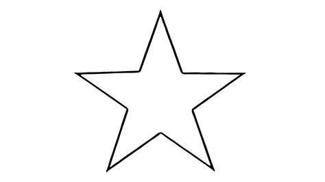 Comment dessiner une étoile (facile) - YouTube