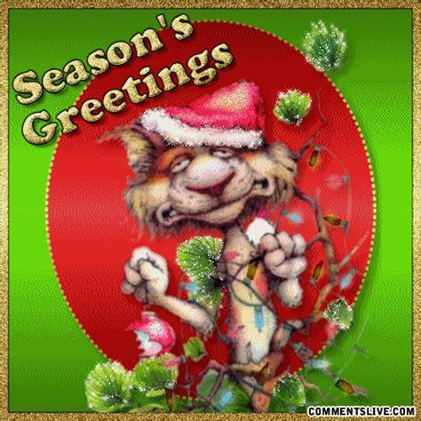 CommentsLive.com - Seasons Greetings Funny Greetings Picture