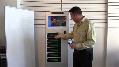 Commercial cell phone charging station with lockers Cell ...