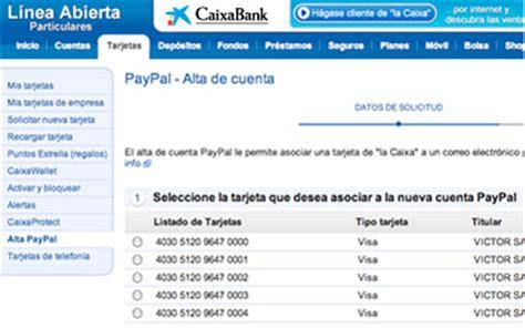 Cómo abrir tu cuenta PayPal   Tarjetas   CaixaBank