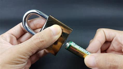 Como abrir un candado sin llave de manera facil | LabsJack ...