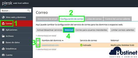 Cómo Acceder a Webmail desde Plesk