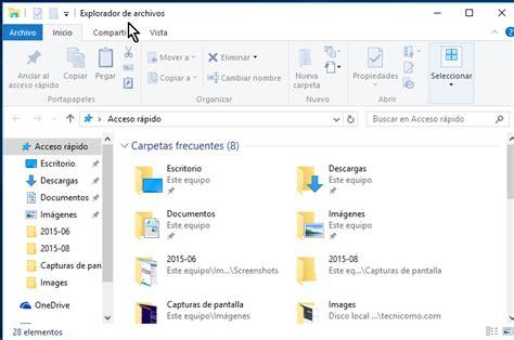 Cómo acceder al Explorador de archivos en Windows 10 ...