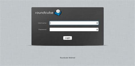 Como acceder al webmail Roundcube   Alojamiento web para ...