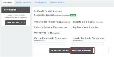 ¿Cómo accedo al Webmail?   Preguntas Frecuentes   FAQ