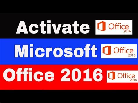 COMO ACTIVAR WINDOWS 10 Y OFFICE 2016 PARA SIEMPRE ...