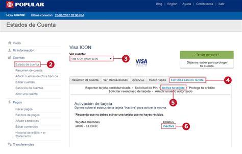 ¿Cómo activo mi nueva tarjeta de crédito? - Popular ...