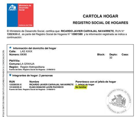 Como Actualizar Datos En El Registro De Hogares De La ...