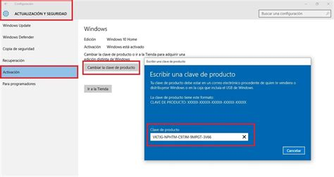 Como actualizar Windows 10 Home a Windows 10 Pro con una ...