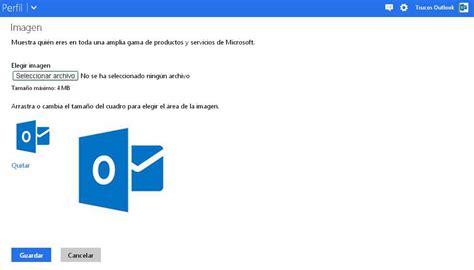 Cómo agregar o cambiar la imagen de perfil en Outlook.com ...