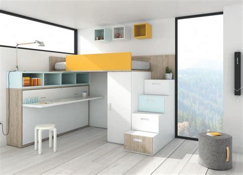 Cómo ahorrar espacio en dormitorios juveniles pequeños - M ...
