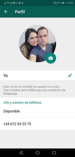 Cómo ajustar las fotos de perfil en WhatsApp